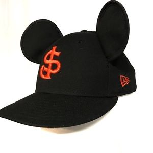 New Era Disney SJ giants black baseball Mickey hat